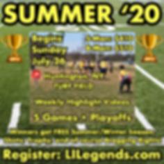 Summer '20 Long Island Flag Football