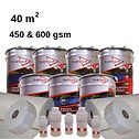 40m2 premium fibreglass roofing kit