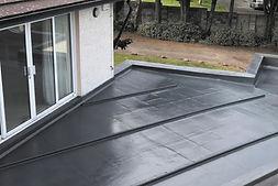 customer roof - ribbed finish