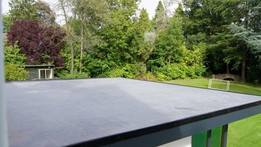 How much does a rubber EPDM flat roof cost?