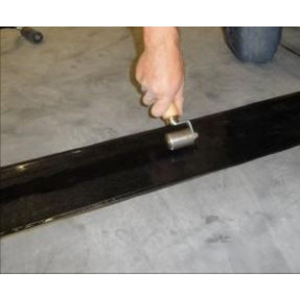 Joining epdm membrane with 6 inch cover tape