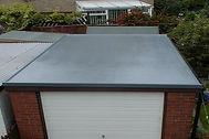 fibreglass garage roof