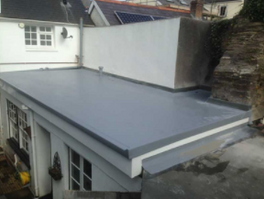 Is Fibreglass roofing better than EPDM