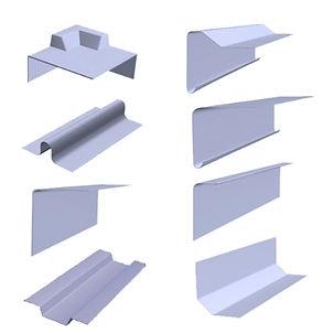 Fibreglass - GRP roofing edge trims