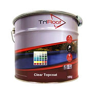 Premium Clear fibreglass topcoat