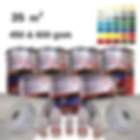 RKD Premium colour fibreglass roofing kit