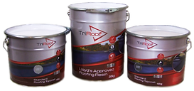 TriRoof Fibreglass roofing resin