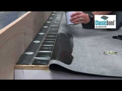 How To Install Russ Strip To Upstands Text Roofing