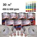 30m2 premium colour fibreglass roofing kit
