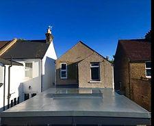 customer roof - extension-skylight