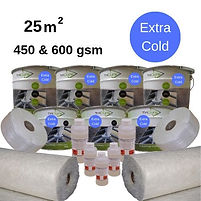 25m2 TriCure extra cold fibreglss roofing kit