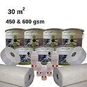 30 m2 standard fibreglass roofing kit