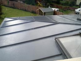 How to install a fibreglass roof