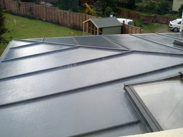 How to install a fibreglass roof