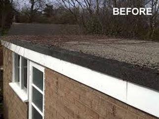 garage roof before flexitec