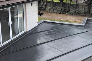 fibreglass patio over single storey extension