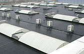 Factory rubber roof in Resitrix Rubber