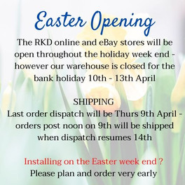 RKD - Easter Opening