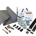 rubber - EPDM roofing kit