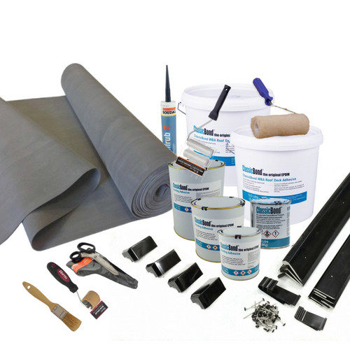 epdm roofing kits from 2.5m2 to 100m2