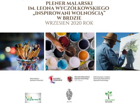"""IX Ogólnopolski Interdyscyplinarny Plener Malarski im. Leona Wyczółkowskiego """"Inspirowani wolnością"""""""