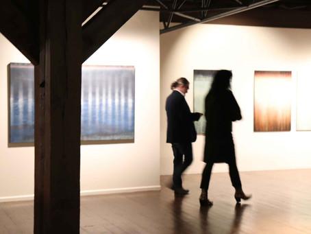 Wystawa Wspólne Przypadki - spotkania malarskie im. Leona Wyczółkowskiego w Brdzie