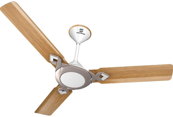 Standard Cruiser Refresh 1200mm Ceiling Fan (Mist Walnut)