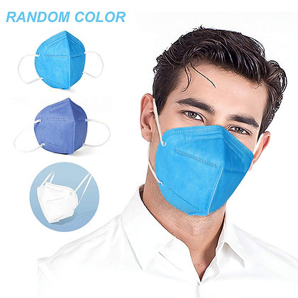 N95 Multi Color Face Mask Protect Mouth Droplets, Dust and Pollutio (3Pcs)