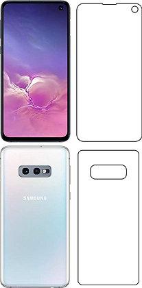 Napfond Samsung Galaxy S10e (Front and Back) Hammer Proof Flexible Nano Film