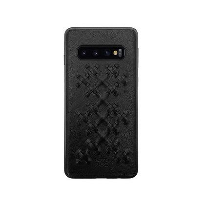 RAIGOR Inverse Samsung Galaxy S10 Weave Series PU+TPU+PC Protective Case