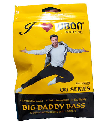 UBON OG SERIES BIG DADDY BASS EARPHONE GP-321 CHAMP