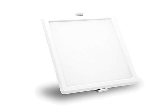 Syska SSK-RDL-S 20-Watt LED Slim Panel Light (Cool White, Square)