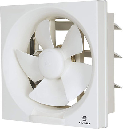 Standard Refresh Air Dx 200mm Exhaust Fan (White)