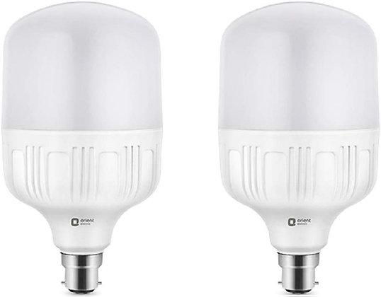 Orient Electric Plastic Eternal Shine LED Bulb (30W, White)