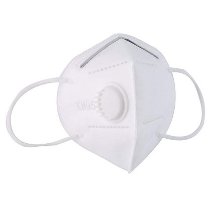 N95 Face Mask Protect Mouth Droplets, Dust and Pollution With Valve
