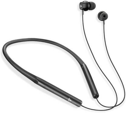 Syska C2-BK Bluetooth Headset  (Black, Wireless in the ear)