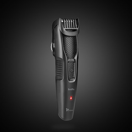 Syska HT200 Pro Beard Pro Runtime: 45 min Trimmer for Men  (Black)