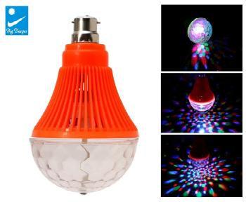 CHOL Jumbo Disco LED Rotating Bulb Light for Party