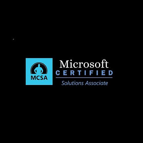 MCSA (Microsoft Certified Solutions Associate) 2016