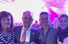 Europe Convention Paris, Frankreich 2017 Erich & Conny mit Rebecca & Kirk Hansen