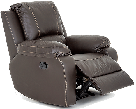 Calgan Motorised Recliner Full Leather Chair