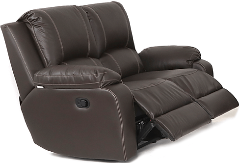 Calgan 2 Seater Recliner Full Leather Couch