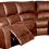Thumbnail: Calgan 5 Str 1 Action Corner + Chaise + Console Full Leather Set