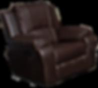 Full grain 100% leather armchair
