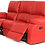 Thumbnail: Calgan 3 Seater Recliner Leather Upper Couch