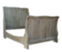 Sleigh bed, bed, wood, drop-in sleigh bed, bed frame, bedroom