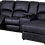 Thumbnail: Calgan 4 Section 1 Action Recliner Fabric Couch