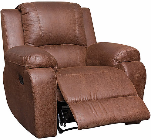 Calgan Motorised Recliner Fabric Chair