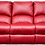 Thumbnail: Calgan 3 Seater Static Leather Upper Couch