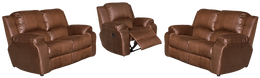 Calgan 1 Action 2/2/1 Recliner Fabric Set
